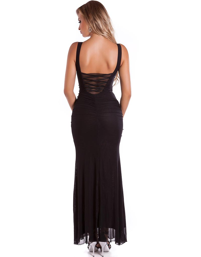 Lekker kort turkis kjole X Large