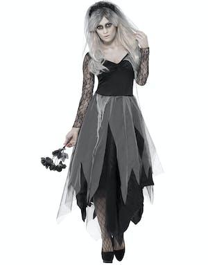 Vampyr Gotisk Häxa - Multi Svart Dräktklänning - Häxor ... 5597443f263eb