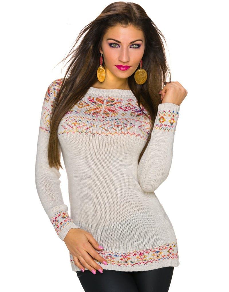 7adead0c Heysailor ! | Strikkeoppskrift genser med striper dame - av ...