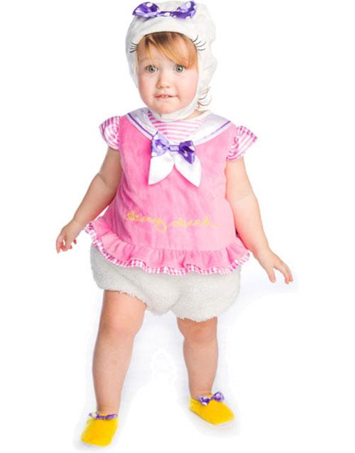5ef82637 Disney Lisensiert Dolly Duck Luksus Babykostyme