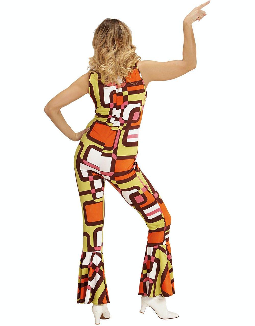 2c403d4f 70 Talls Retro Ruter Jumpsuit-Kostyme