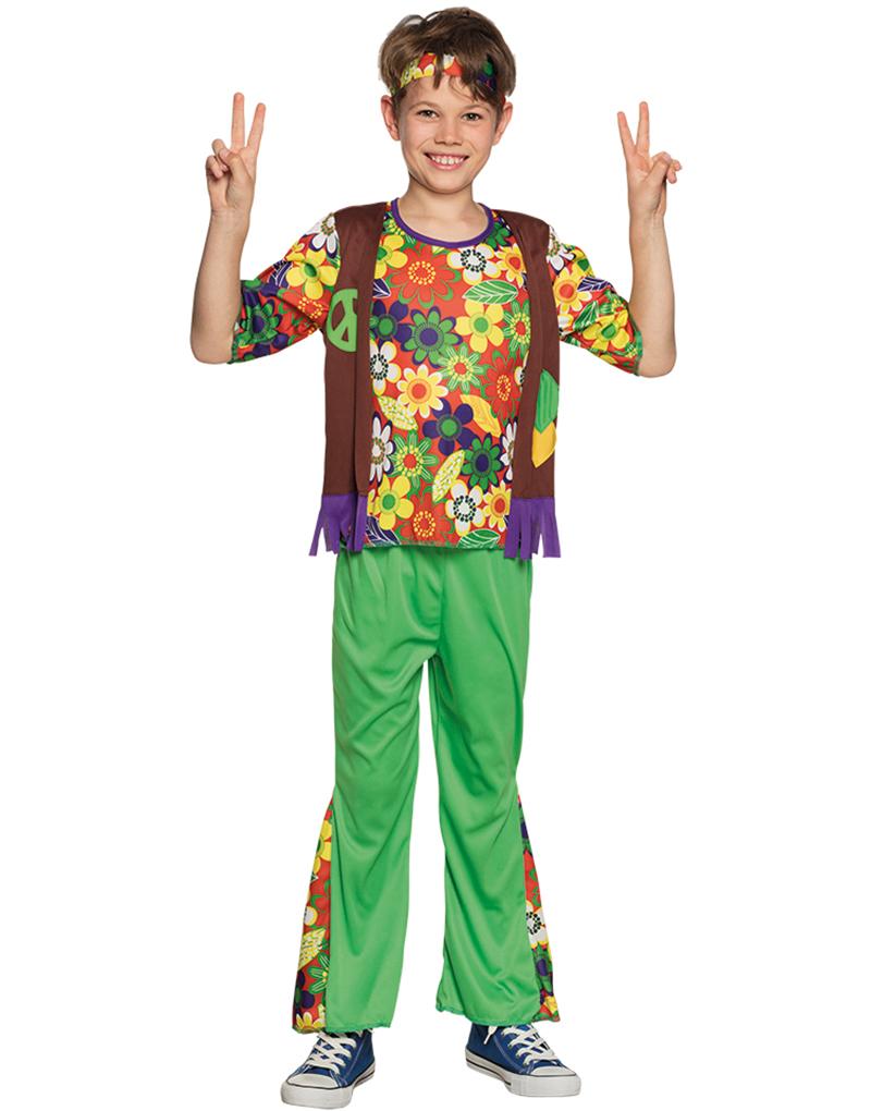 28ea23b0 Fargerikt Woodstock Hippie Barnekostyme til Gutt - Se Alle Våre ...