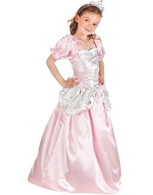 4272d0b6945c Rosa och Vit Prinsessdräkt för Barn - Se alla våra Maskeraddräkter ...