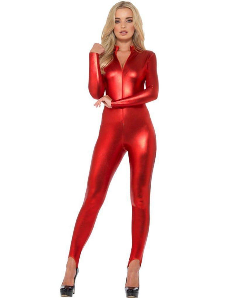 e809b294 Rødt Bodysuit Damekostyme - Sexy Kostymer - Kostymer etter Tema ...