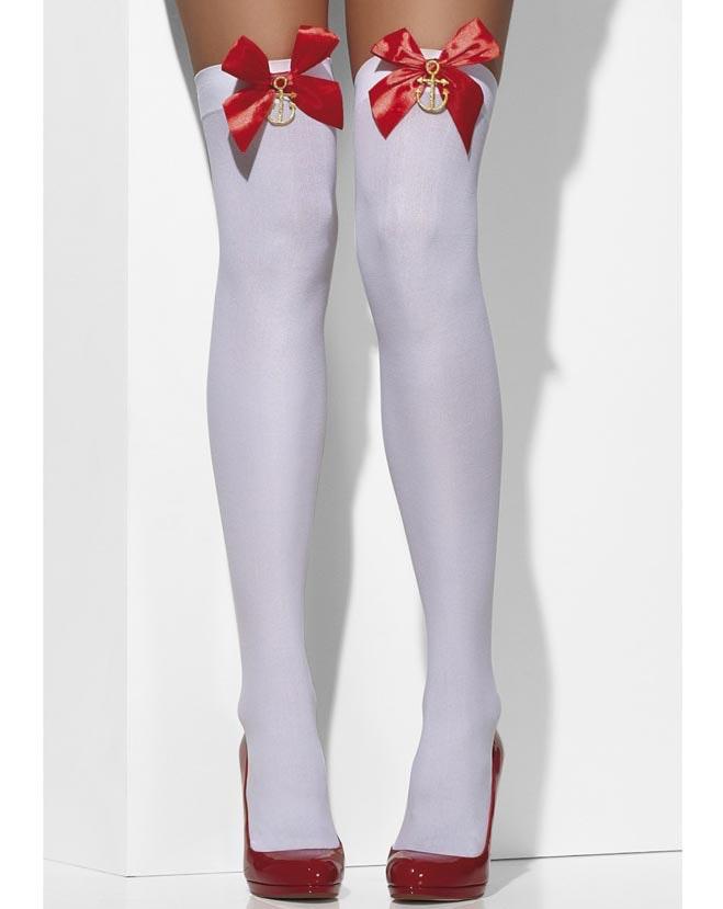 lårhøye støvletter latex tights
