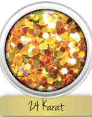 Holografisk UV Blacklight Chunky Glitter - 24 Karat fc20665ed1695