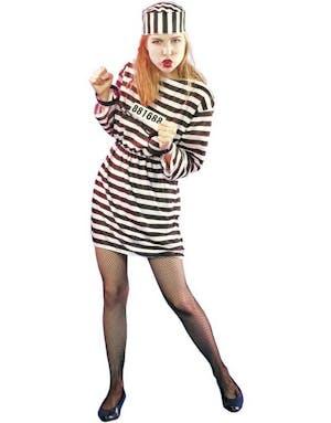 Kvinnlig Fånge - Kostym bc8e0211670a0