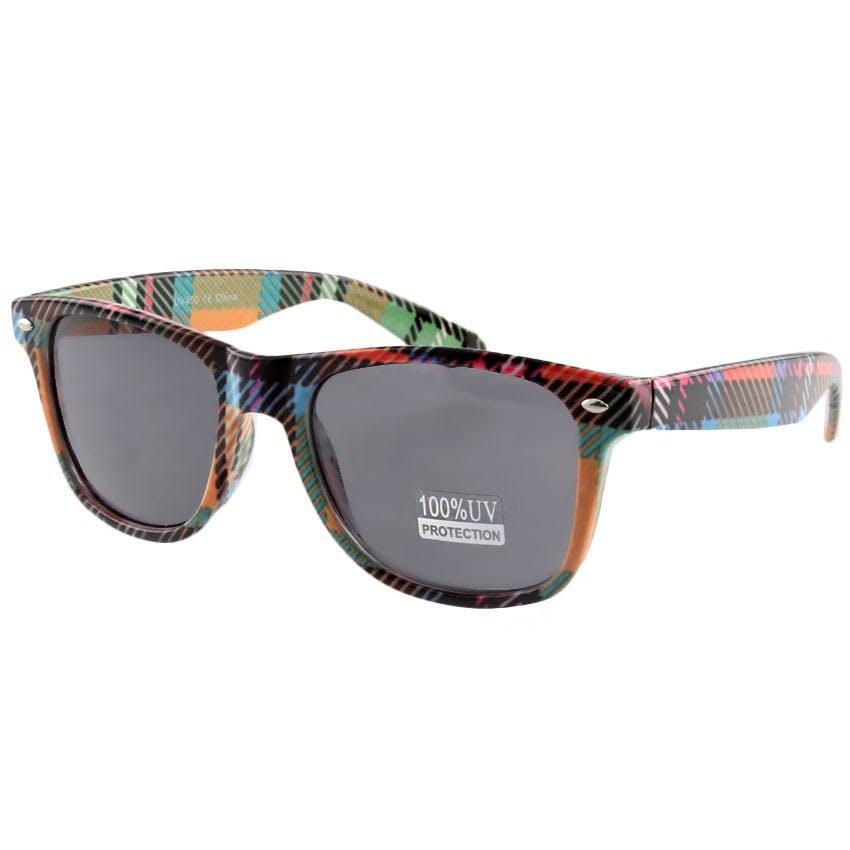 Scottish Flare Wayfarer - Multi Solbrille