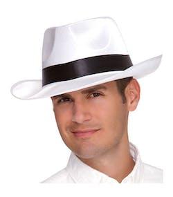 Vit Maffia Gangster Hatt 8c05985a588e6