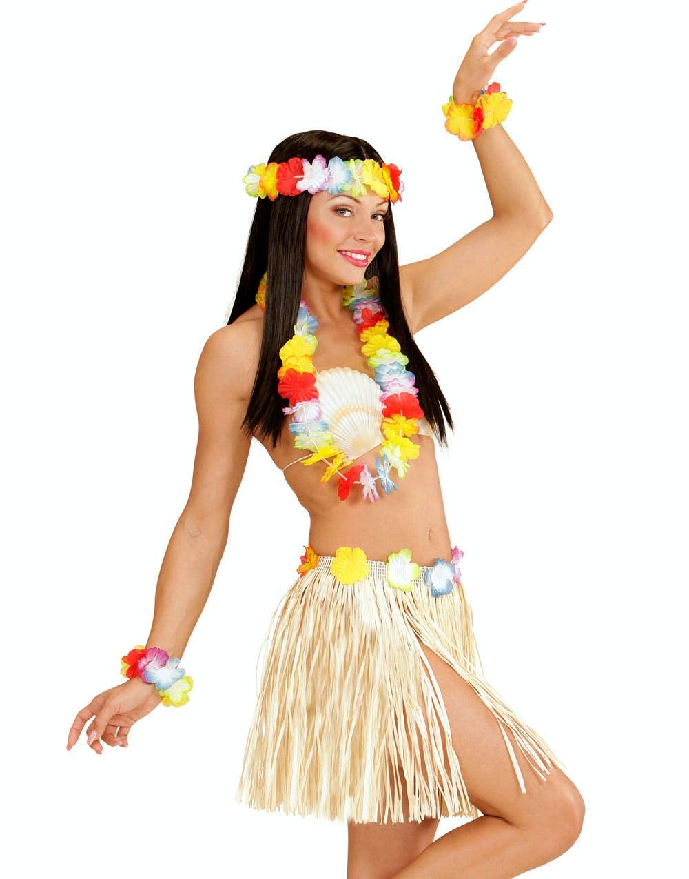 4ca0d2db Maui Hawaii Kostyme Sett - 5 Deler