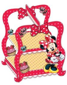 9955a8f8 Minni Mus 2 Etasje Kakestativ 30x28x28 cm - Minnie Mouse Cafe