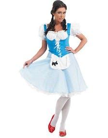 Wizard of Oz - Dorothy Kostym - STORA STORLEKAR bcffb63f1da30