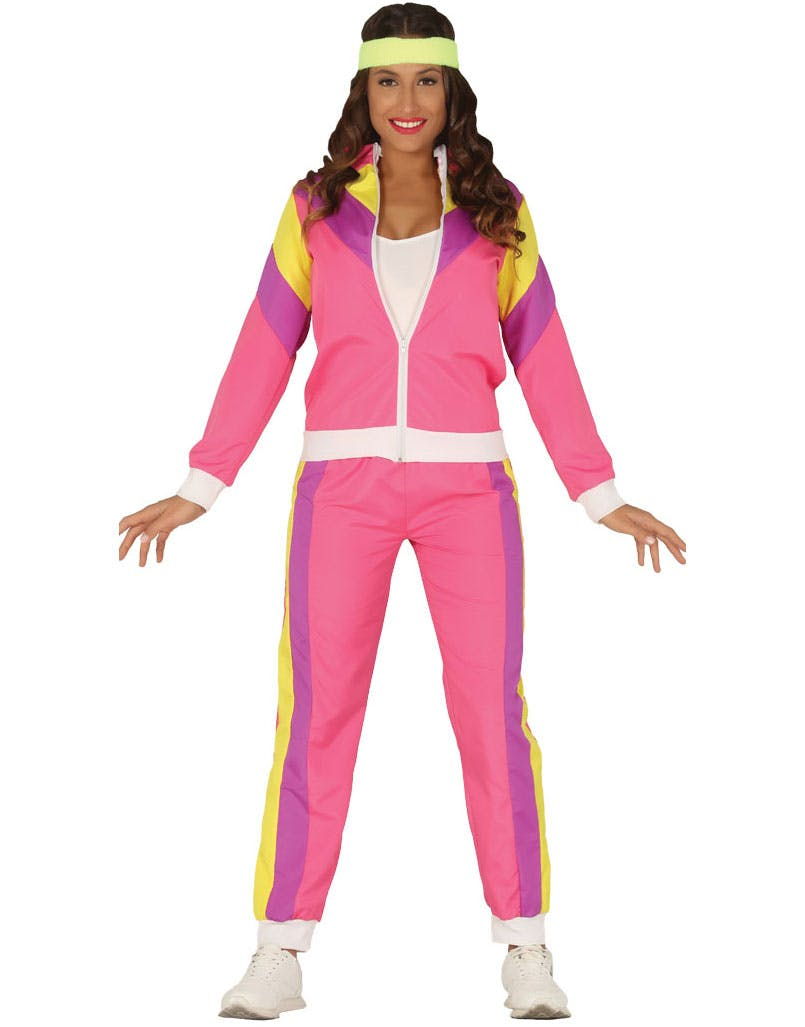 4071bf531 Rosa 80-talls Grilldress Kostyme til Dame