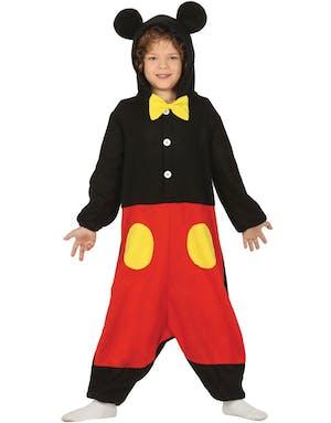 Mikke Mus Inspirert Kigurumi Kostyme til Barn - Mikke   Minnie Mus ... 722f077b21777