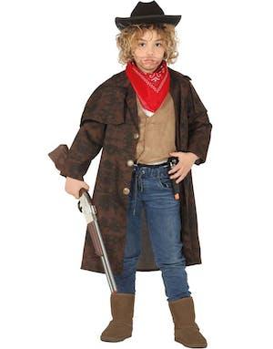 Brun Cowboy Dräktkappa för Barn - Se alla våra Maskeraddräkter ... 92572d6071142