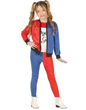 e9a556a2 Suicide Squad Inspirert Harley Quinn Kostyme til Barn - Harley Quinn ...