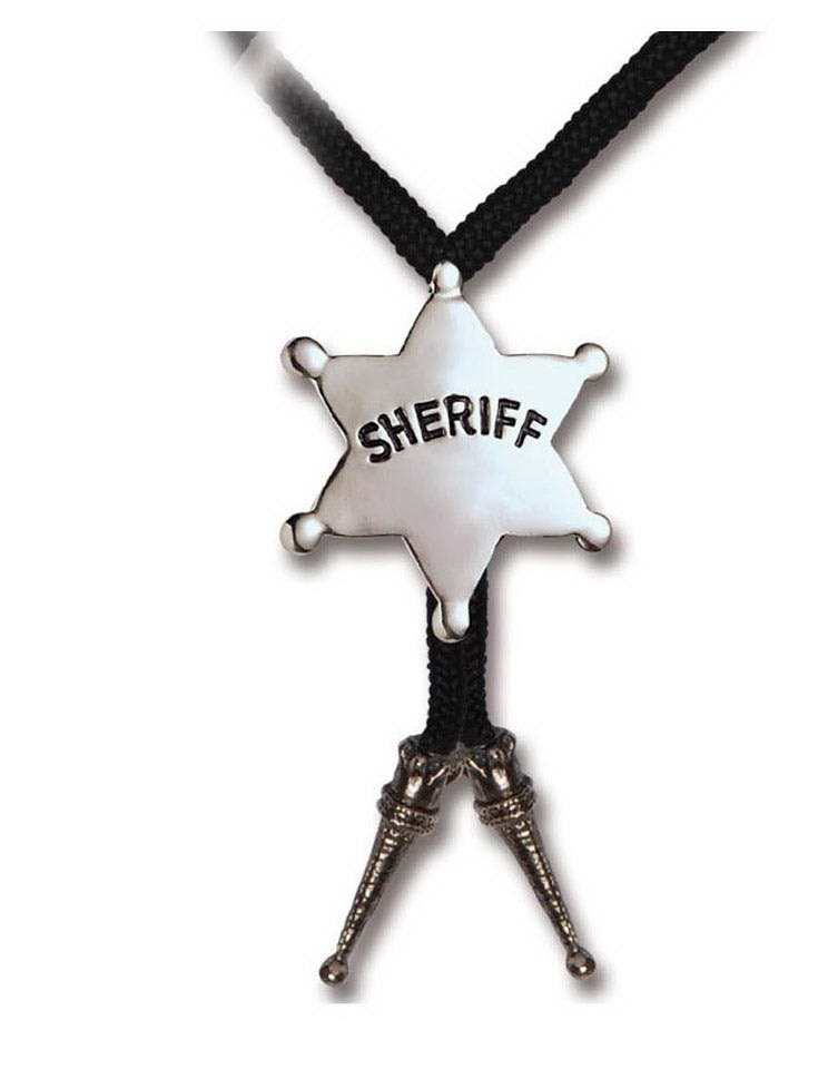 a1c3c2ac Cowboy Lissesmykke med Sheriffstjerne