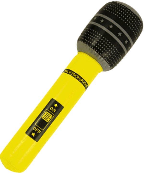 Oppblåsbar mikrofon FestFabrikken