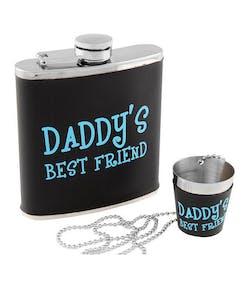 41aec2dfa2e Daddy's Best Friend - Set med Fickplunta och Shotglas