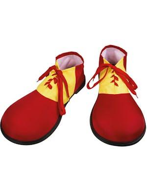Stora Röda och Gula Clownskor - Cirkus - Maskeraddräkter Efter Tema ... 63a981e76010b