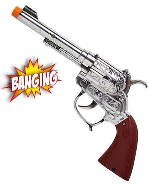 Cowboy Pistol med Ljud och Ljus - 20 cm f008691466d55