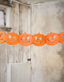 efff3489 Halloween Gresskar Papirgirlander 3 Meter