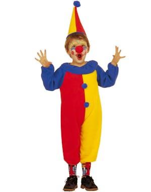 Rolig Clown - Dräkt för barn fc6e01bfa1cdf