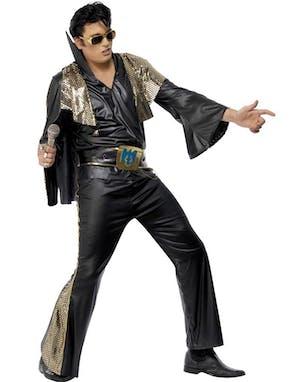 e1708574903c Jailhouse Rock - Licensierad Elvis Kostym