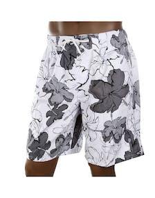 7d6ec4fa2c2 Strl XXL - White Flower Vit (Shorts)