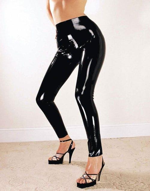 latex leggings fria porrfilmer