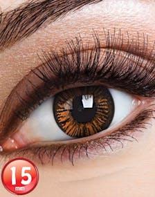 8f82e2ece0b2 Big Eyes Charming Brown Linser med Styrke