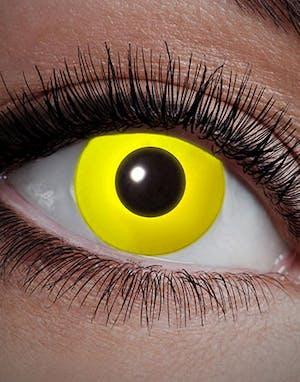 All Yellow - Gul UV Blacklight Crazylinser - UV 627723ee1c6be