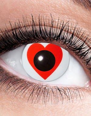 57b1c00d2 Hvite Crazylinser med Røde Hjerter