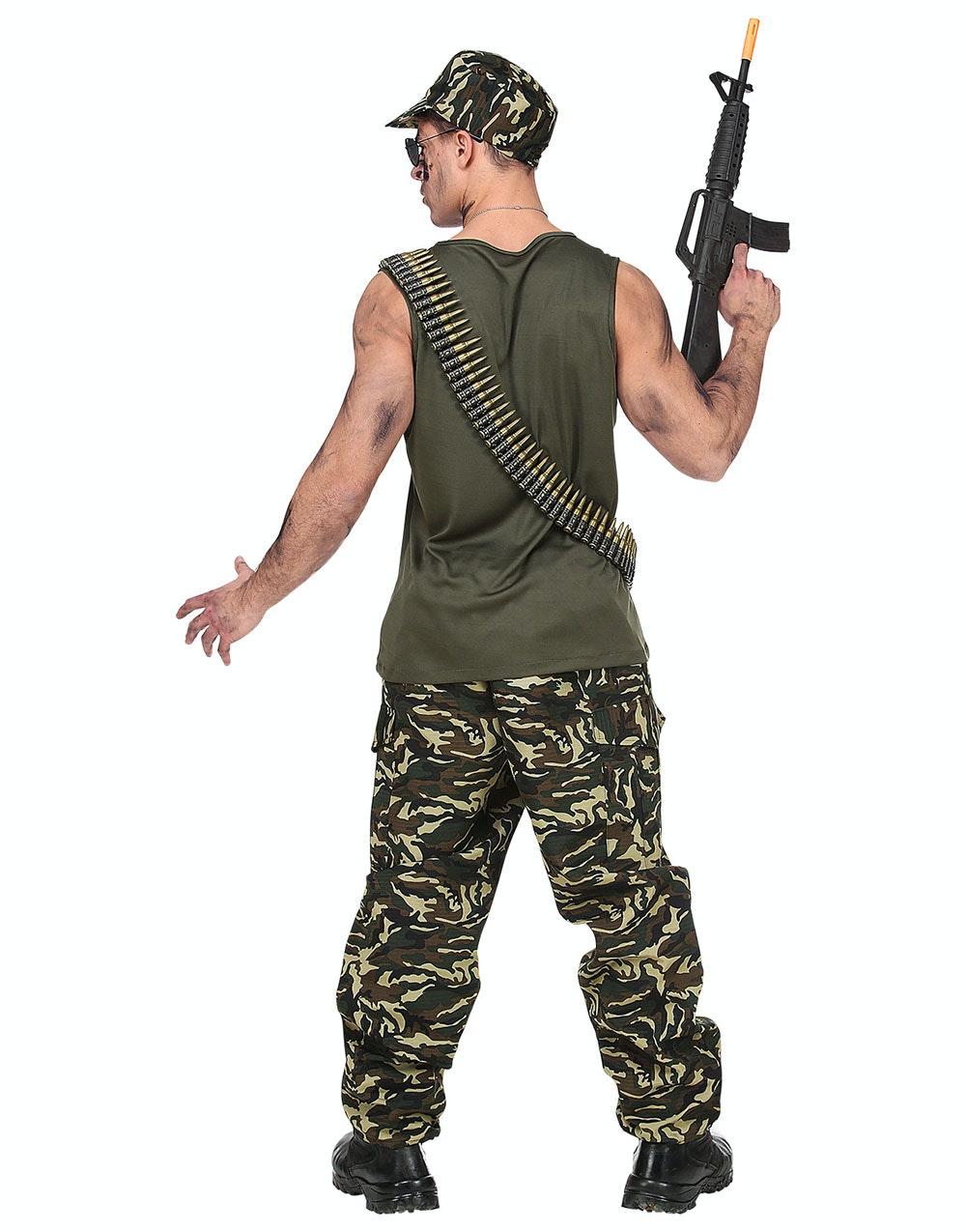 halloween kostym militär