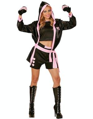 Boxer Girl - Boxningsdräkt (Dam) - Boxning - Sport - Maskeraddräkter ... 21adc1e301882