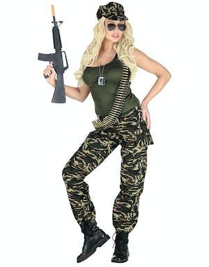 Mrs. Soldier - Militärdräkt (Dam) - Militär - Maskeraddräkter Efter ... 0ca536ad203a0