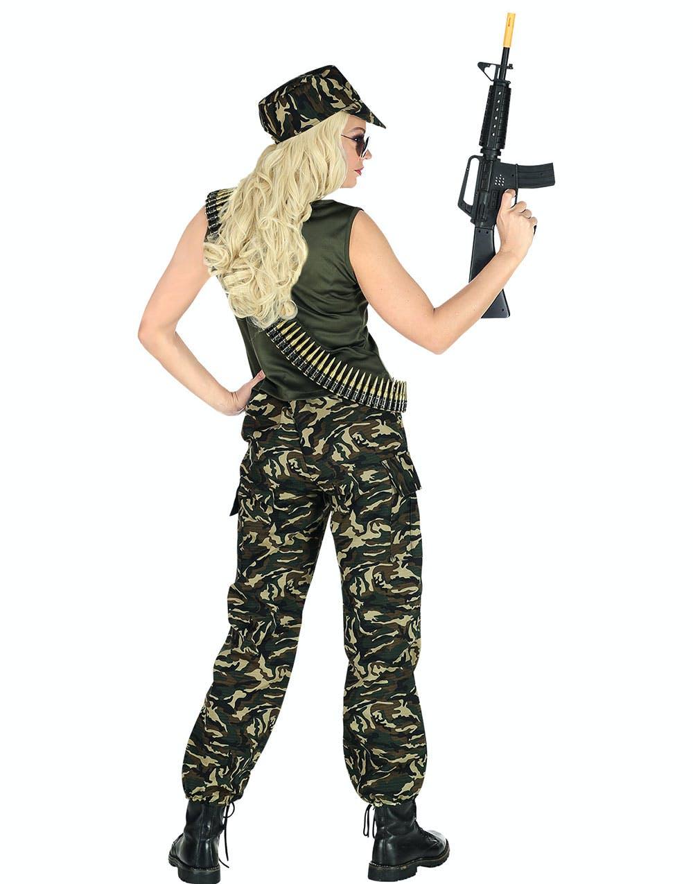 Mrs. Soldier - Militärdräkt (Dam) - Militär - Maskeraddräkter Efter ... 6bc7760963544