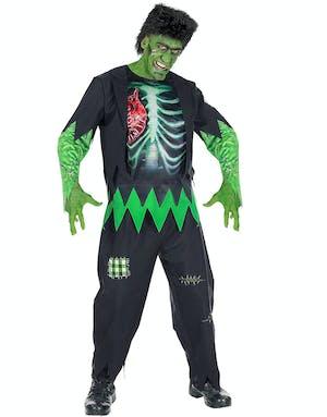 Frankenstein-Zombie med Peruk (Herr) - Frankenstein - Film   TV ... fe04e81b7e15e