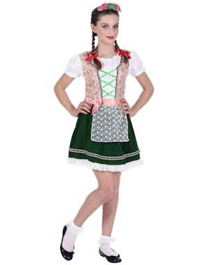 Rosa og Grønt Oktoberfest Kostyme til Barn - Se Alle Våre Kostymer ... 040fda980d7c4