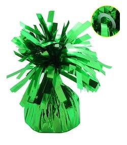 Ballongvikt i Folie med Fästring - Grön df59a369c55c9