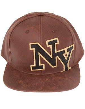 724c29140 abuja tourist attractions NY Skinnimitert Brun Flatbrem Snapback Caps