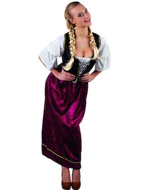 9b108bf8 Pent Oktoberfest Kostyme til Dame
