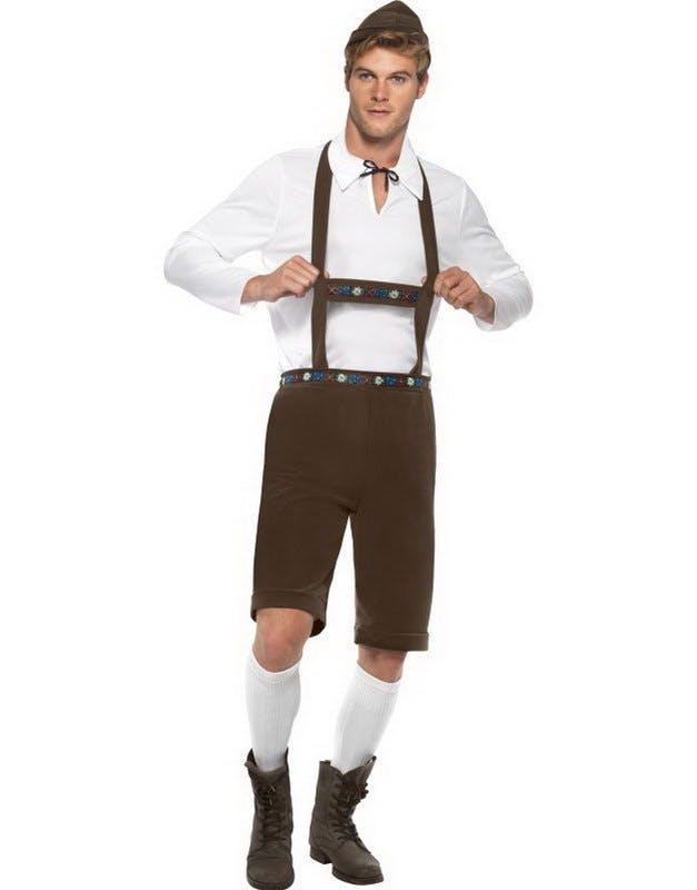 66a48dac Bayersk Mann - Oktoberfest Kostyme