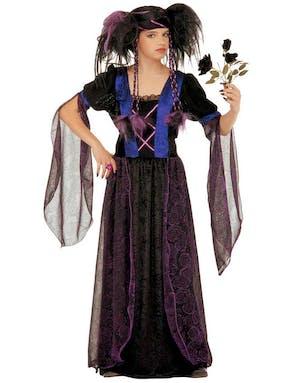 b7901c8a21f1 Gotisk Prinsessa Barnkostym