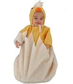 aa0b374e8e36 Søt Klekkende Kylling Babykostyme