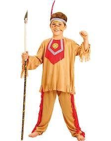 cbf084ae Hiawatha Indianer Barnekostyme