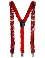 Röd Glittrande Fluga med Julmotiv - Andra Juldräkter - Jultema ... 778d073c7e446