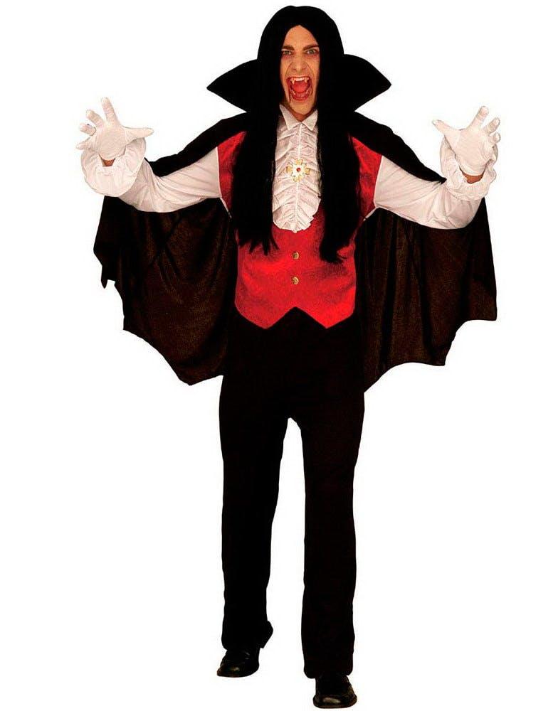 Dracula Kostym - 4 Delar Dracula Kostym - 4 Delar ... d9b342a72e0b9