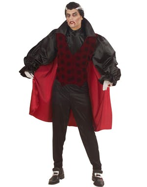 ac2cb2c7 Viktoriansk Vampyr - Kostyme til Mann