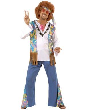 304216e7f hvilke kriminalitet er mest utbredt Woodstock Hippiemann - Kostyme